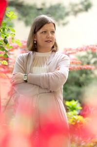 Eva Glotz, die Inhaberin des Zuckerstudios Wien